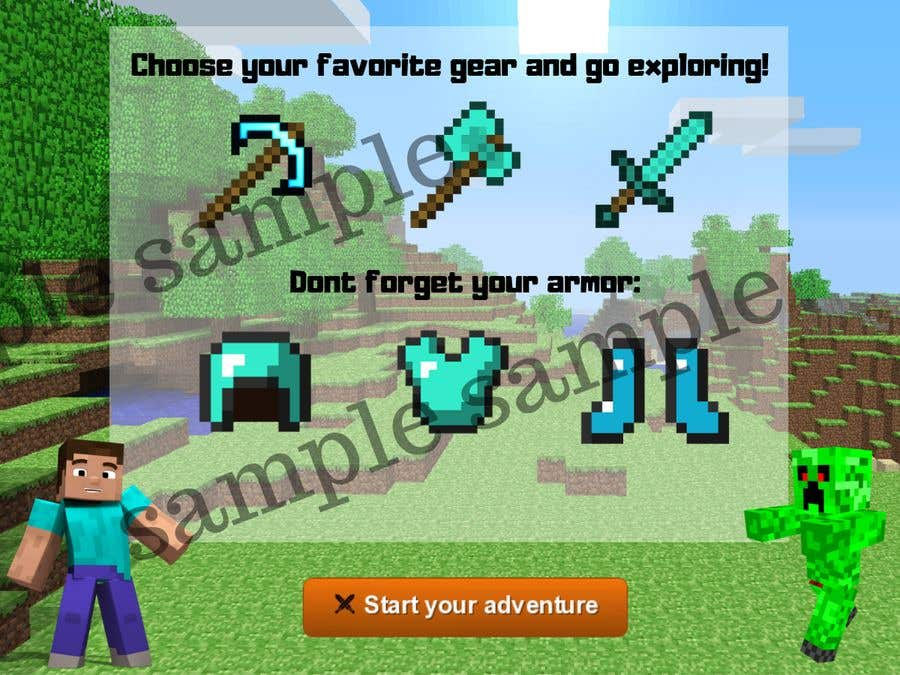 Entry 8 By Adilahmohammed For Minecraft Banner Freelancer