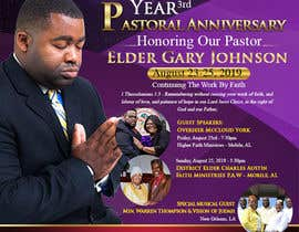 #1 for 3rd Year Pastoral Anniversary Flyer by maidang34