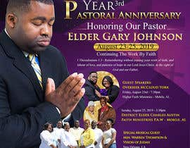#4 for 3rd Year Pastoral Anniversary Flyer by maidang34