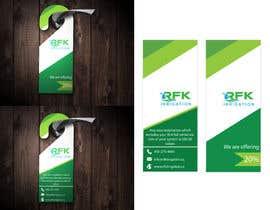 #25 for Door Hanger Design by Tofayel7710