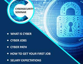 #41 for Make me a Flyer - Cybersecurity by Roboto1849