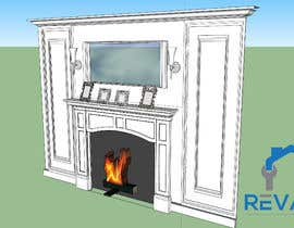 #1 для Design a fireplace accent wall от tayyababid81
