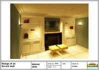 3D Rendering Konkurrenceindlæg #32 for Design a fireplace accent wall