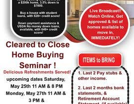 #23 for build a flyer for upcoming home buyers seminar by DavidShenron