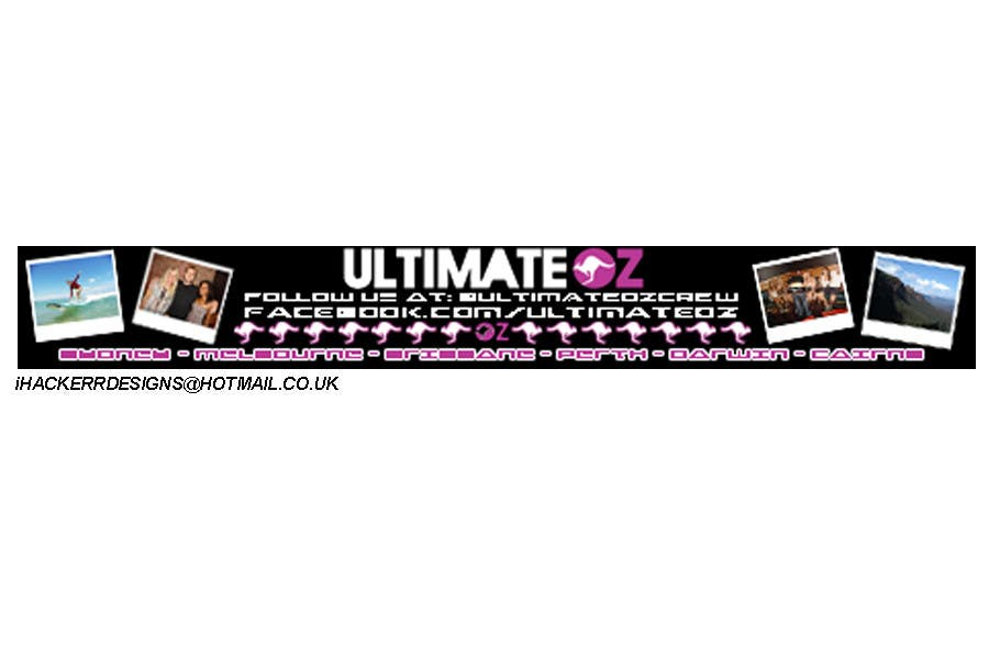 Конкурсная заявка №12 для Banner Ad Design for UltimateOz