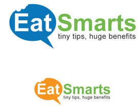 #40 for Logo Design for Eat Smarts by themoongraphics1