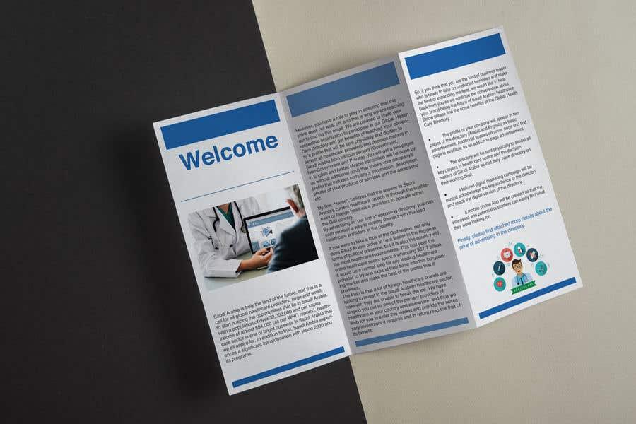 Kilpailutyö #2 kilpailussa design a brochure to attract adverisers