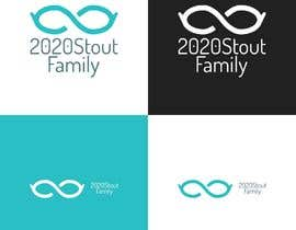 #24 para I'm looking for a family reunion logo that will take place in 2020. So something with 2020, a perfect vision, maybe with glasses, and the family name: Stout  por charisagse