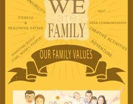 #68 for Family Values Poster by hamza001ghz