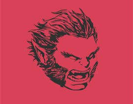 #36 for Design A Monster Head Logo af ibracu