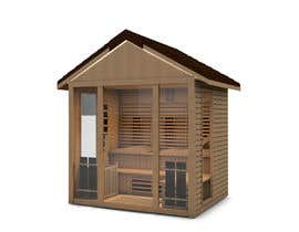 alvinagamble tarafından 3D model of wood and glass için no 1