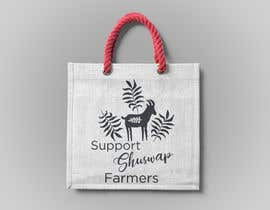 #21 for Support Shuswap Farmers - tote bag design by kamranmaqbool25