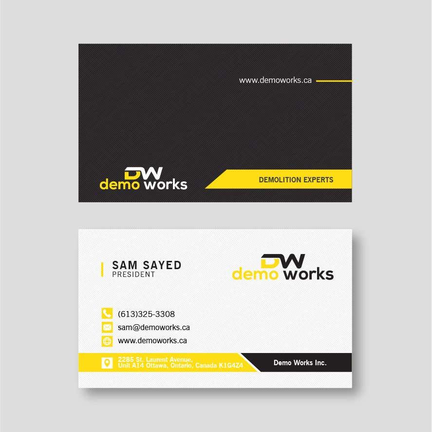 Конкурсная заявка №110 для Design Business Card
