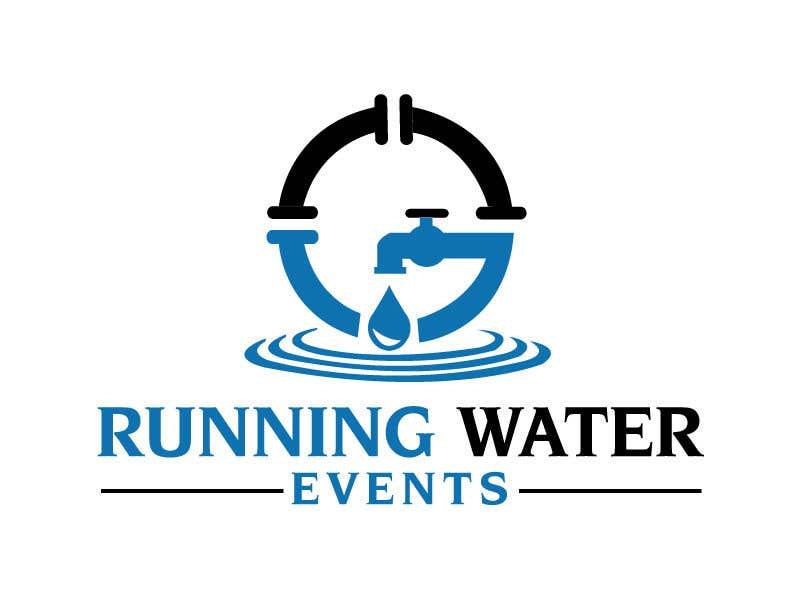 "Kilpailutyö #11 kilpailussa Logo for ""Running Water Events"" races and charity"
