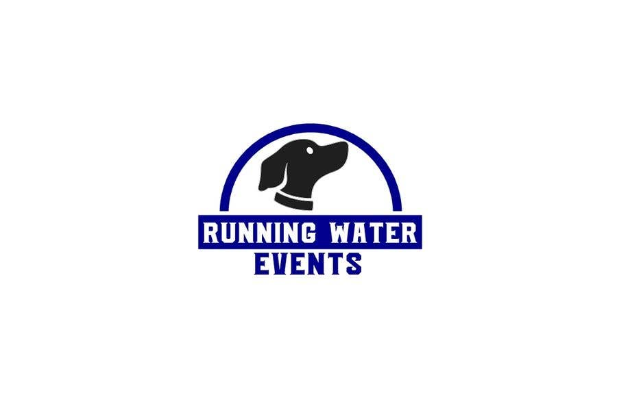 "Kilpailutyö #31 kilpailussa Logo for ""Running Water Events"" races and charity"