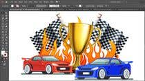 Graphic Design Contest Entry #10 for Make a Watercolor Race Car design in Vector file