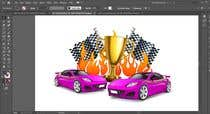 Graphic Design Contest Entry #11 for Make a Watercolor Race Car design in Vector file