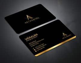 mrsmhit835 tarafından Redesign business cards in modern, clean look in black & white or gold & white için no 35