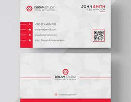 #12 для Redesign business cards in modern, clean look in black & white or gold & white от thesurjo