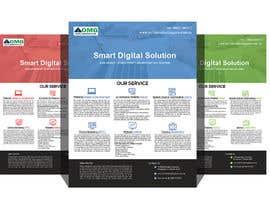 SLBNRLITON tarafından Design and Create flyer for website design and Web Hosting Business için no 17