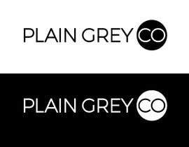 #114 for Logo design - Plain Grey Co by activedesigner99