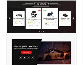 #50 para Design UI/UX for the main page of  our eCommerce site por soykothosen16030