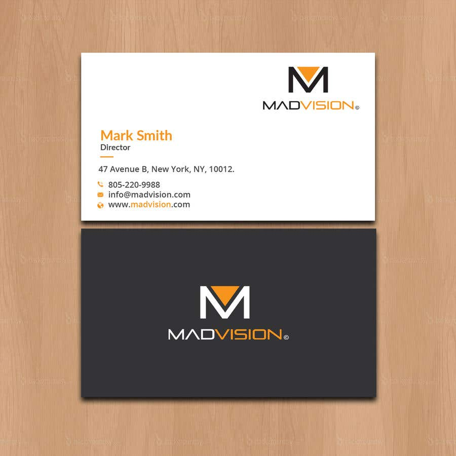Proposition n°536 du concours Layout Business card