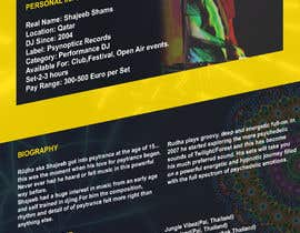 Nro 9 kilpailuun DJ protofolio käyttäjältä saviyaa
