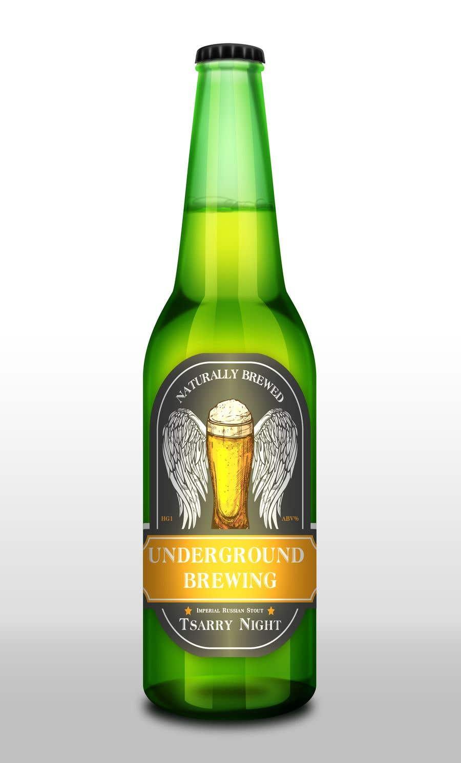 """Intrarea #34 pentru concursul """"Design beer bottle labels"""""""