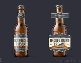 nº 13 pour Design beer bottle labels par megjocson