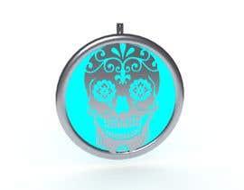 Christek tarafından Stainless Steel Jewelry Designs - Sugar Skull Oil Diffuser Locket için no 18