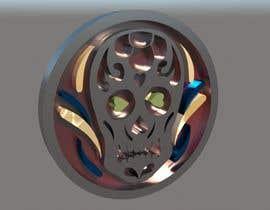 IvoKrastev tarafından Stainless Steel Jewelry Designs - Sugar Skull Oil Diffuser Locket için no 15