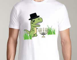 #30 for T-shirt Design - Cartoon T Rex af nikolajug777