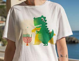 #29 for T-shirt Design - Cartoon T Rex af hzamani096