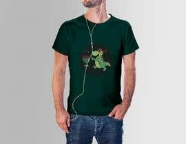 #65 for T-shirt Design - Cartoon T Rex af mithunballov