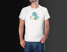 #59 for T-shirt Design - Cartoon T Rex af SujanBD01
