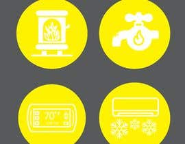 #40 for Need icon for Air, water, heat and thermostats&zoning af abdullahifrit