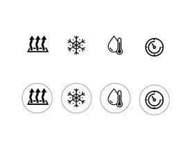 #42 for Need icon for Air, water, heat and thermostats&zoning af awais7322