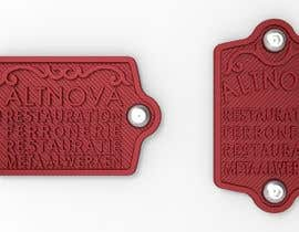 nº 20 pour Create name tags in 3D (STL) with embossed text and special 3D textured background par nazmisevli
