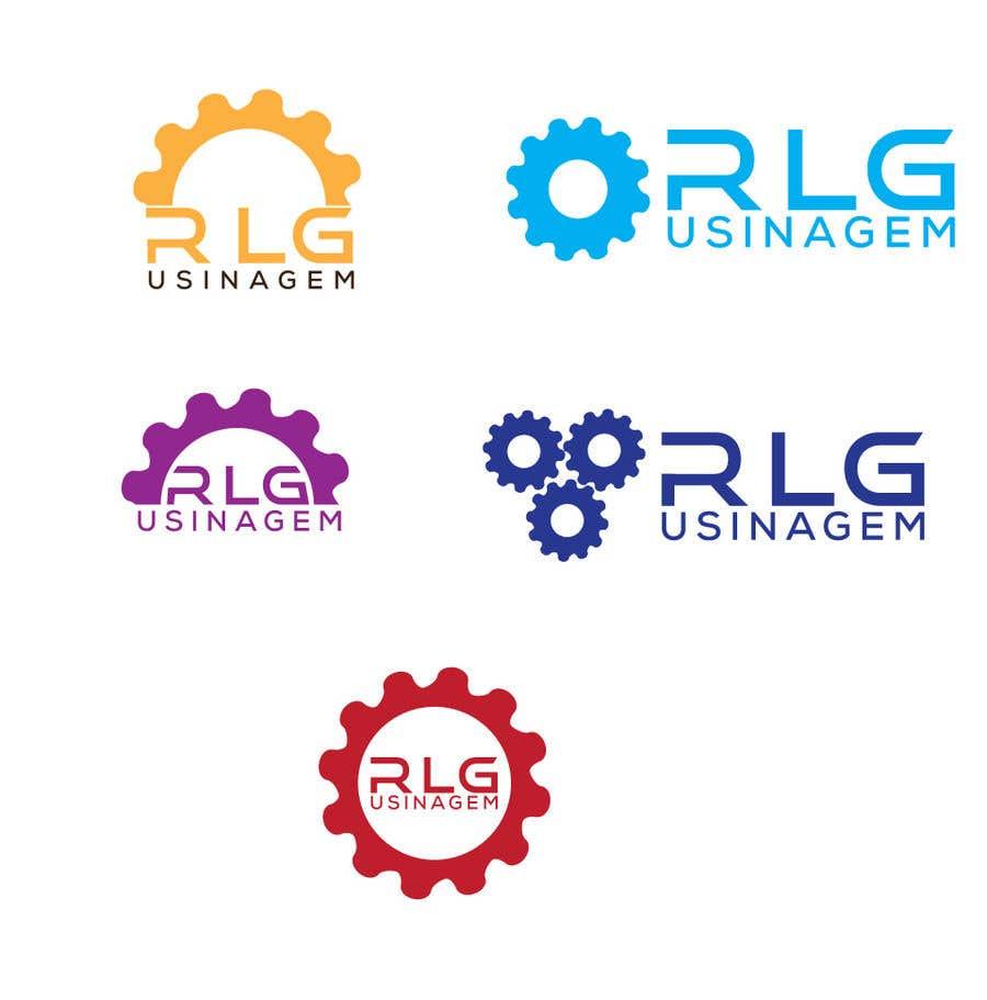 "Konkurrenceindlæg #136 for Create Logo ""RLG USINAGEM"""