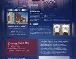 #8 для 4TH OF JULY THEMED 5 DAY EVENT ITINERARY FLYER NEEDED от beltranbrito