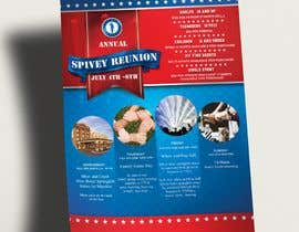 #38 для 4TH OF JULY THEMED 5 DAY EVENT ITINERARY FLYER NEEDED от MehdiToo