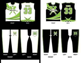 #92 untuk Design Graphics for Jersey, Hat, and Pants! oleh zakarine