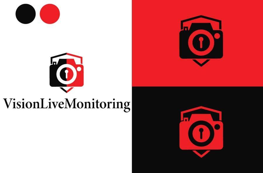 Penyertaan Peraduan #18 untuk Camera security company logo
