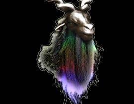 #22 for I would like a logo 2D or 3D of the head of a Markhor. I would like the beard of the markhor to be colorful. by RobSmith3D