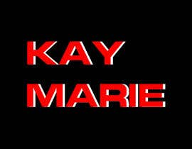 "#52 for Logo for website (desktop and mobile site) my store name is ""Kay Marie"" by AhamedSani"