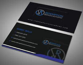 #65 для Business Cards for Redemption Renovations от khadiza1998