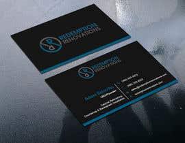 #61 для Business Cards for Redemption Renovations от sima360