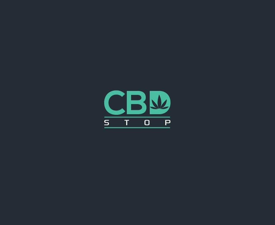 Kilpailutyö #73 kilpailussa CBD Stop Logo