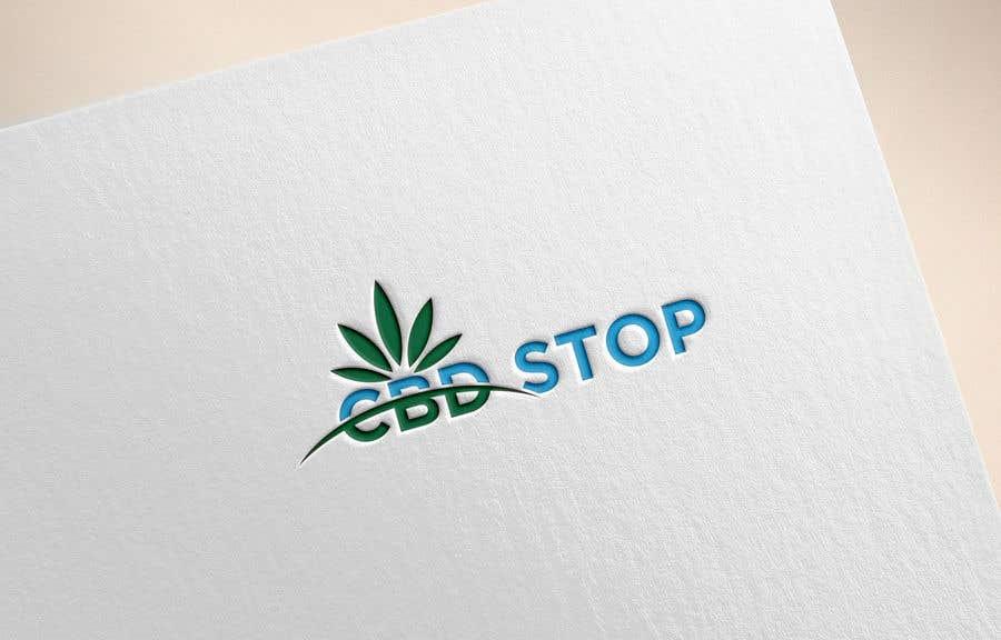 Kilpailutyö #178 kilpailussa CBD Stop Logo